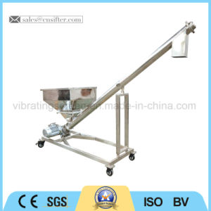 Stainless Steel Inclined Auger Conveyor Flexible Screw Conveyor pictures & photos