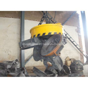 Double Girder Gantry Crane Magnet for Lifting Scraps pictures & photos