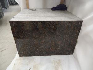 Imported Natural Stones From Britain Polished Tan Brown Granite Tile/Slab pictures & photos