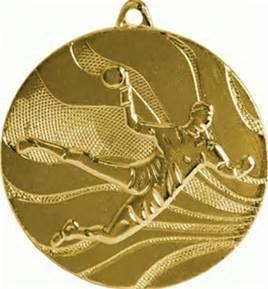 Supply Custom Gold Honor Handball Medal pictures & photos