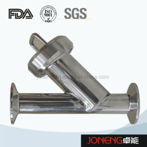 Stainless Steel Threaded Y Type Sanitary Filter (JN-ST2004) pictures & photos
