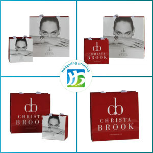 Luxury Matte Color Printed Paper Bag for Cosmetic pictures & photos