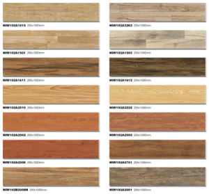 Wood Plank Texture Ceramic Floor Tile From Guangdong pictures & photos