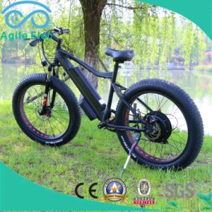 48V 500W Fat Tire Beach Cruiser Electric Bike with Battery pictures & photos