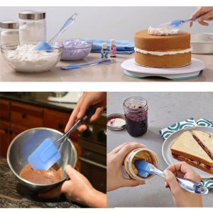 Best Cooking Silicone Spatula Set pictures & photos