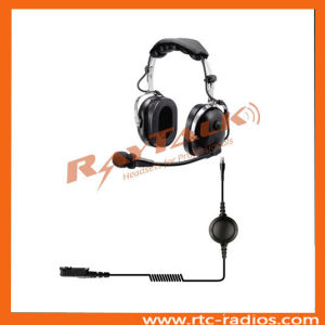 Over The Head Walkie Talkie Headset for Motorola Dp2400 pictures & photos