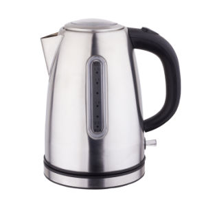 Household Appliances Stainless Steel Cordless Electric Kettle with One Year Warranty pictures & photos