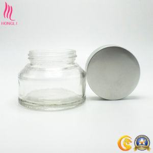 Transparent Round Jar with OEM Lid pictures & photos