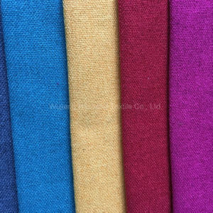 H37 Polyester Linen Upholstery Fabric for Sofa pictures & photos