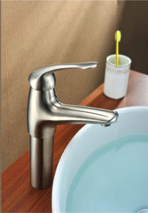 Stainless Steel Bathroom Lavatory Toilet Basin Sink Vessel Faucet pictures & photos