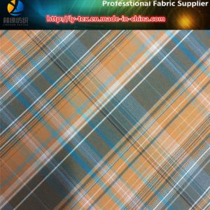 Polyester/Nylon Blended Yarn Dyed Check Fabric for Outerwear pictures & photos
