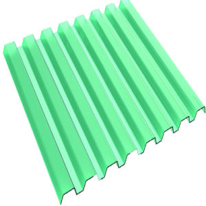 Corrugated Solid Plastic Polycarbonate Roofing Sheets Used in Agricultural Greenhouse pictures & photos