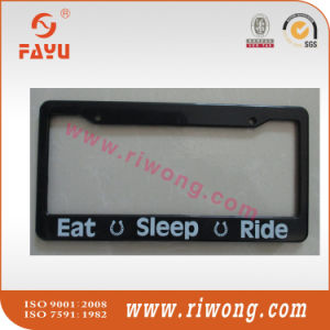 Stainless Steel Car Plate Holder for Us Market pictures & photos