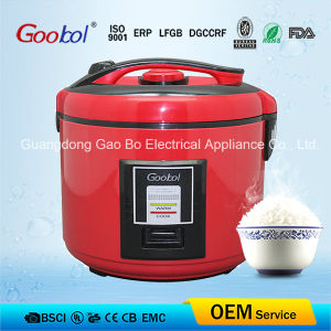 2016 Hot Sale Red Colour Full Body Deluxe Rice Cooker 3L 4L 5L 6L pictures & photos