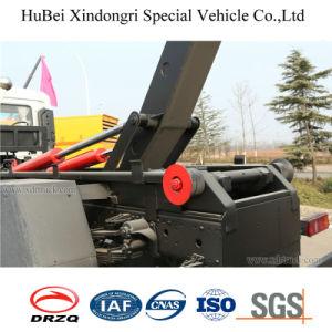 10cbm Dongeng Euro 4 Hook Arm Type Wastebin Skip Lifting Garbage Truck pictures & photos