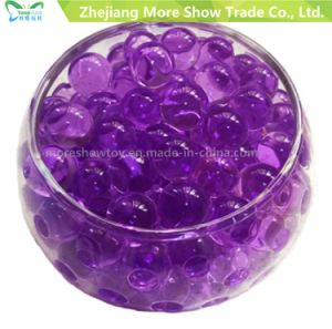 Wholesale Purple Crystal Soil Water Beads for Plant Bio Gel Soil pictures & photos