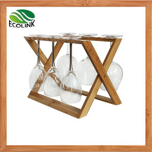 Natural Bamboo Wine Glass Rack / Cup Rack pictures & photos