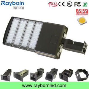 Modular 200W Waterproof Shoebox LED Flood Light with Optic Lens pictures & photos