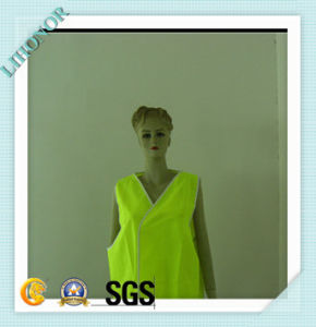 Neon Green Safety Vest with Reflective Strips