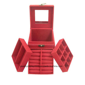 Jewelry Box Storage Cabinet Organizer Stand Necklace Chest Mirror Case pictures & photos