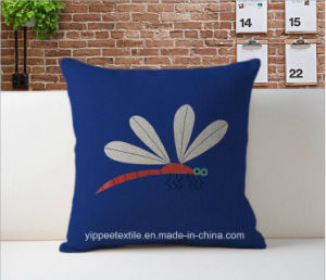 MOQ: 10pieces, Custom Printed Linen Cotton Cushion Cover, Cushion, Back Pillow pictures & photos