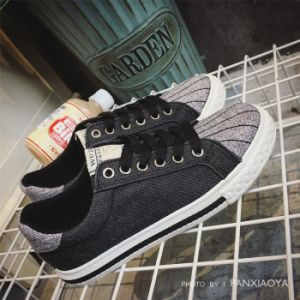 Men Women Kid Boy Girl Lady Canvas Leisure Sport Shoes pictures & photos