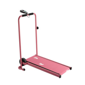 Folding Walk Machine  Mini Manual Treadmill pictures & photos