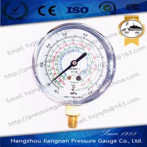 1.5MPa Refrigerant Pressure Gauge of R134A/R404A/R22/R407c Liquid pictures & photos