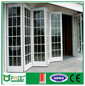 Aluminium Alloy Bi Folding Door with As2047as2208 Certificate Powder Coated pictures & photos