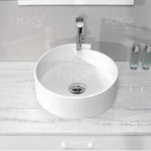 Round Bathroom Hand Wash Sink Countertop Basin pictures & photos