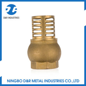 Brass Water Pump Foot Valve pictures & photos
