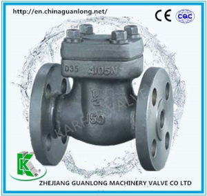 Swing Disc Forged Check Valve (H41H) pictures & photos