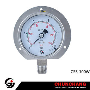 Pressure Gauge with Flange pictures & photos