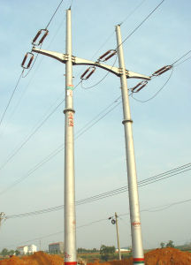 Export Angle Steel Transmission Tower pictures & photos