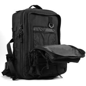 35L Durable Easy Carry Muti-Use Black Molle System Tactical Military Backpack pictures & photos