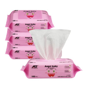 100PCS Cleaning Baby Tissue, OEM Wet Wipe with Good Quality pictures & photos