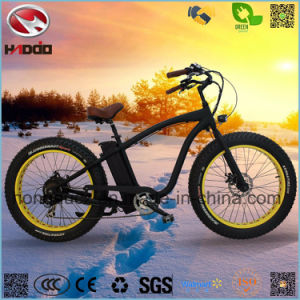 750W Rear Motor Hummer E-Bike Fat Tire Electric Beach Scooter pictures & photos