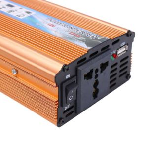 2000W DC 24V to AC 220V USB Adapter Converter Car Styling Power Vehicle Inverter pictures & photos