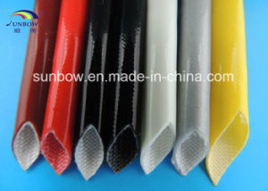 UL Approval E333177 Silicone Rubber Coated Fiberglass Sleeving for Wire Harness pictures & photos