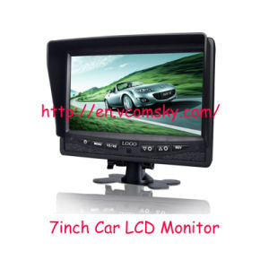 7 Inch TFT LCD Monitor Car Stand-Alone LCD Car Monitor for Bus Truck, Wide Voltage pictures & photos