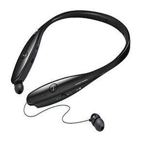 Stylish Neckband Hands-Free Retractable Bluetooth Stereo Headphone