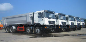 Shacman Dump Truck with 380HP, shacman tipper truck 380HP pictures & photos