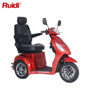 3 Wheel Electric Scooter High Speed LCD Display Mobility Scooter pictures & photos