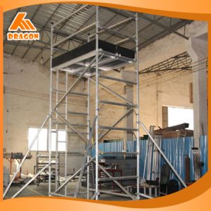 Aluminum Scaffolding Ladder for Construction pictures & photos