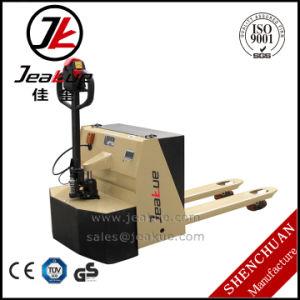2017 New Design 2t Semi Electric Pallet Jack for Sale pictures & photos