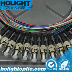 Fiber Optic Pigtail St 12 Colors pictures & photos