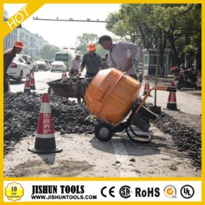 Mini Electric Concrete Mixer with Handle pictures & photos