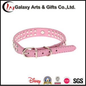 Best Selling Synthetic Leather Rhinestone Zinc Alloyheart Pet Collar Bling pictures & photos