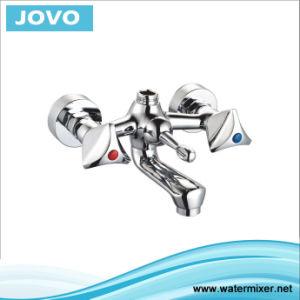 Nice Design Double Handle Bathtub Mixer&Faucet Jv74607 pictures & photos