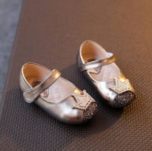 Leather Baby Shoes Indoor Toddler Shoes First Walkers (AKBS15) pictures & photos